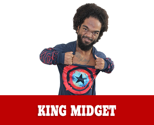 King Midget Extreme Midget Wrestler