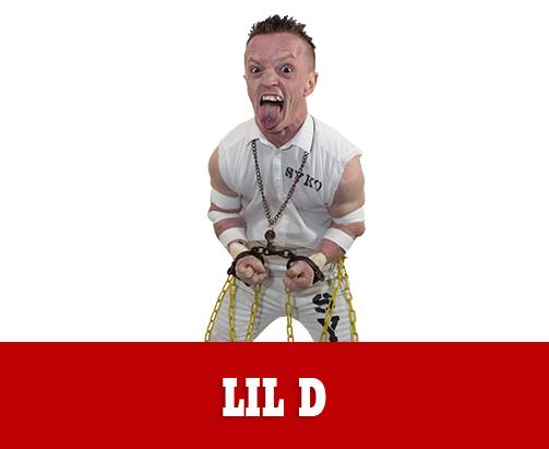 Lil D Extreme Midget Wrestler