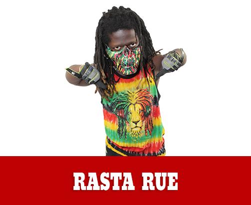 Rasta Rue Extreme Midget Wrestler
