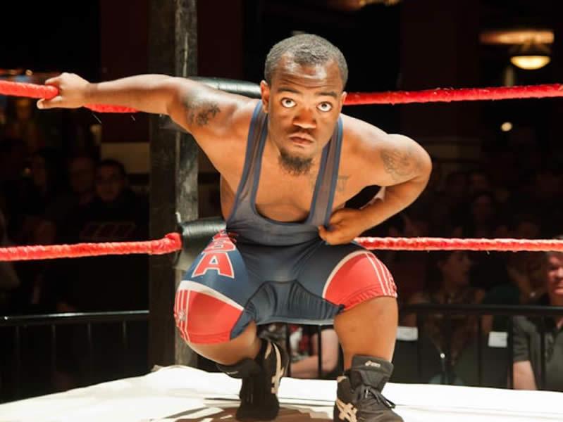 Midget Wrestler Posing