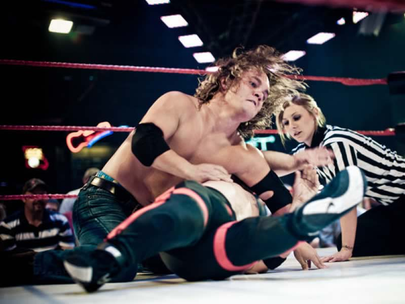 Midgets Wrestling