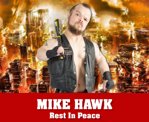 Mike Hawk Extreme Midget Wrestler